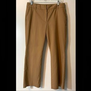 Talbots Heritage Fit Brown Pants Size 12 Petite